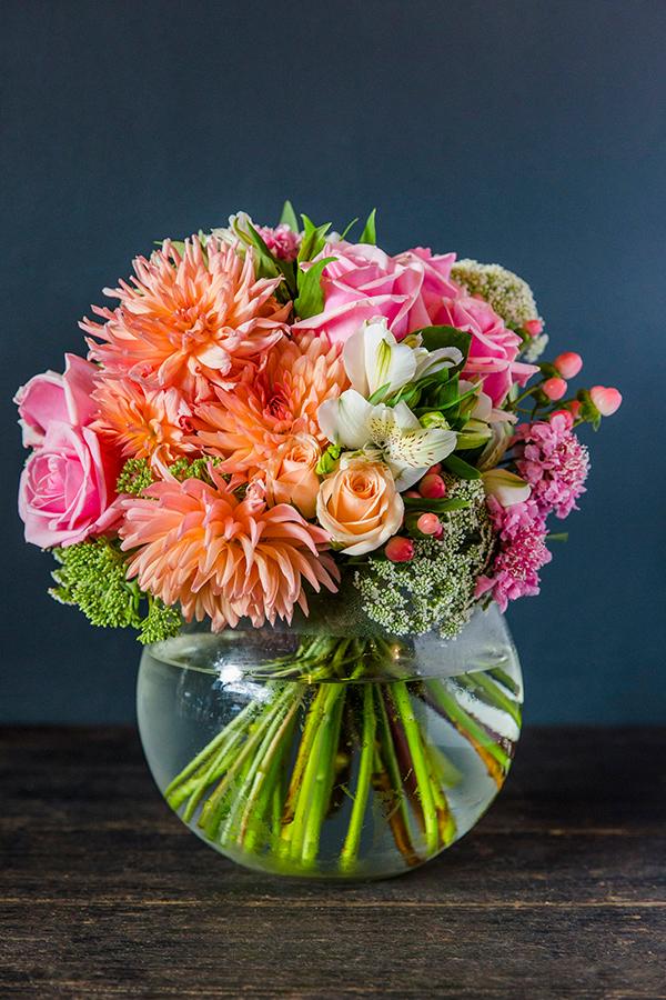 english garden bowl vase